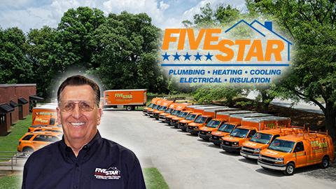 Five Star Plumbing Heating Cooling