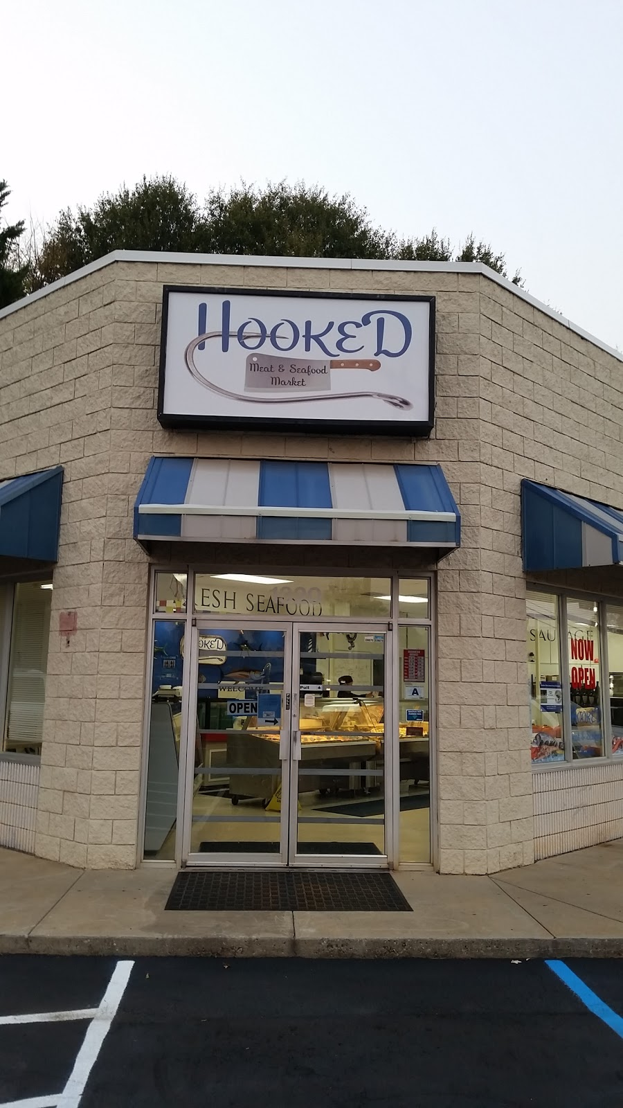 Hooked Meat & Seafood Market