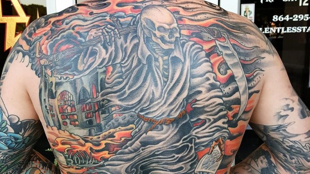 Relentless Tattoo